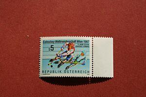 EISHOCKEY - Weltmeisterschaft WIEN 1987