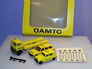 ÖAMTC Set - MB-Opel Rekord Caravan-Renault R4