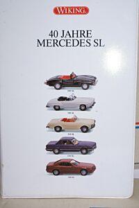 40 Jahre Mercedes SL