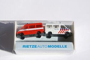 1 x Ford Transit Politie (Niederlande), 1 x Ford Transit Feuerwehr (Niederlande)