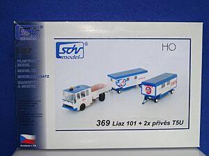 LIAZ 101 + 2 Anhänger T5U