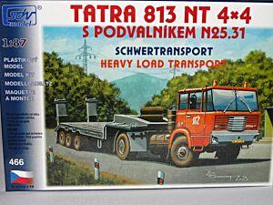 Tatra 813 NT 4x4 mit Tieflader