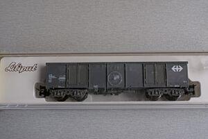 4 ax offener Güterwagen