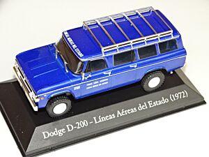 Dodge D200 (1972) Líneas aéreas del estado