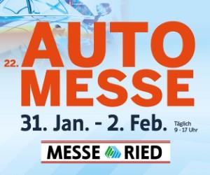 AutoMesse Ried 2020 (31. Jan. - 2. Feb.)